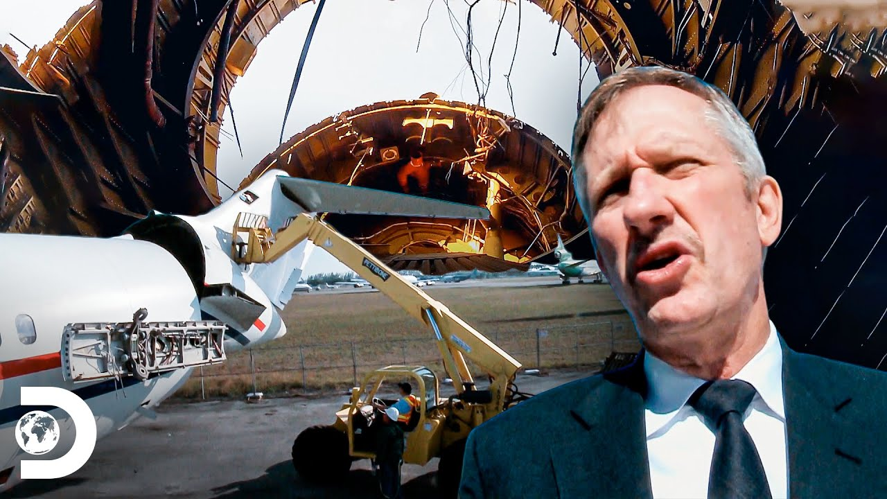 "Desmembrando dois aviões ""esquecidos"" na pista | Aeroporto Miami | Discovery Brasil"