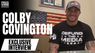 Colby Covington on Kamaru Usman Rematch, Diaz Brothers, McGregor/Poirier II & Dana White (EXCLUSIVE)