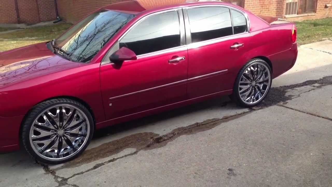 1st 07 Chevy Malibu On 22 S 19 Years Old From Baltimore Md
