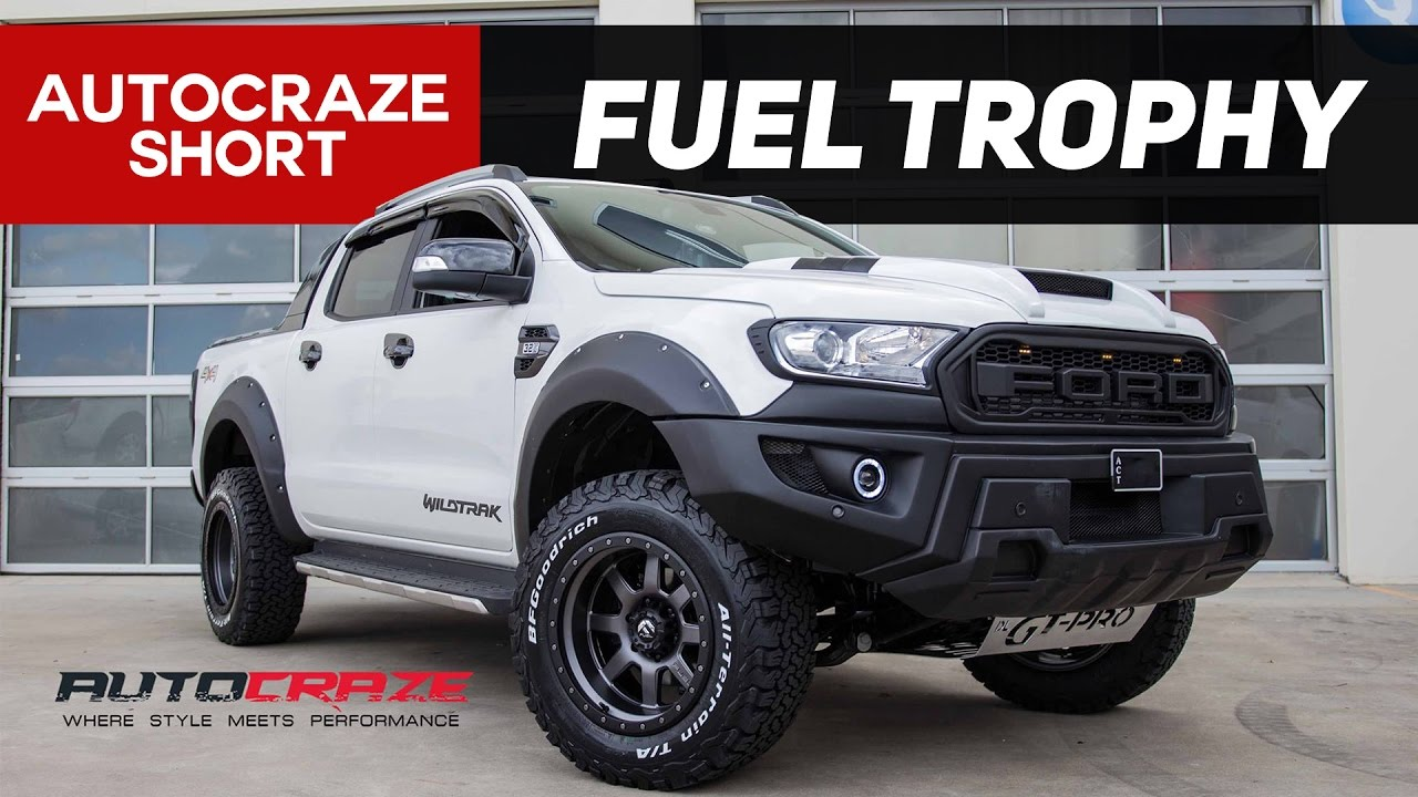 TOUGH TANKER // Ford Ranger Wildtrak Rims // Fuel Trophy ...