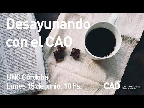 Desayunando con el CAO: UNC Córdoba