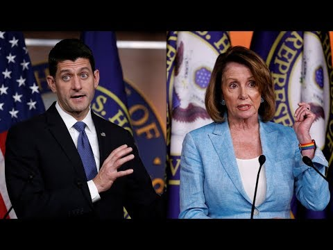 WATCH LIVE: House Speaker Ryan, House Minority Leader Pelosi hold weekly news conferences