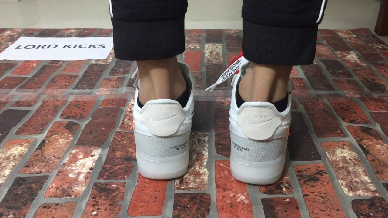 Review 1 On White Low X Air Feet Unboxingamp; Off Force eWQxordCBE