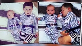 Coleen Rooney Posts Cute Snaps of Sons Kai and Klay in Matching Pirate Pyjamas - Splash News