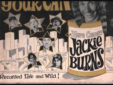 vintage mid sixties comedy LP by JACKIE BURNS. recorded in Austin MN.