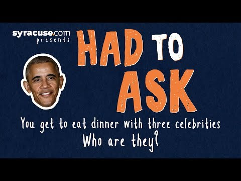 Syracuse basketball: Which 3 celebrities would you like to meet?