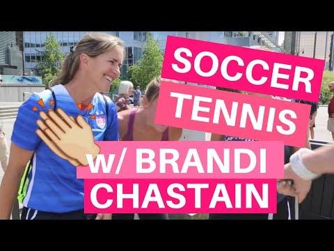 Soccer Tennis with Brandi Chastain