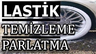 LASTİK PARLATMA & TEMİZLEME | FORMULA 1| 19 TL | # DENEBAK