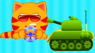 МяуСим #1 - КОТЕНОК - мультик игра для детей про котенка