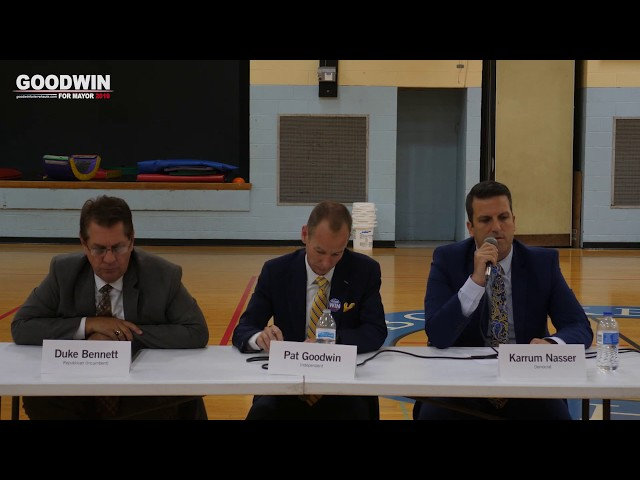 Mayoral Forum Hosted by Citizens of Action (September 10, 2019)