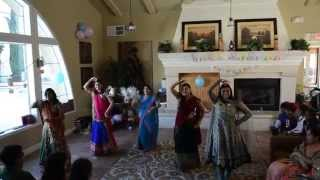 Traditional Indian  Baby Shower Dance for Riddhi