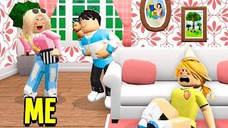 I STOLE My Sisters Boyfriend UNDERCOVER.. She Got JEALOUS! (Roblox Bloxburg)