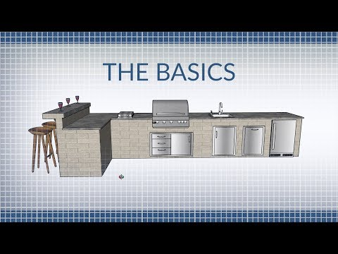 The Basics of Building an Outdoor Kitchen | BBQGuys.com