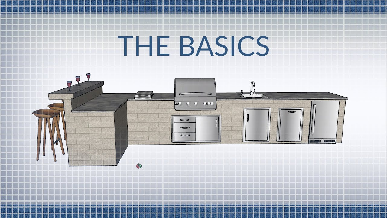 Flat Pack Outdoor Kitchen The Basics Of Building An Outdoor Kitchen Bbqguys