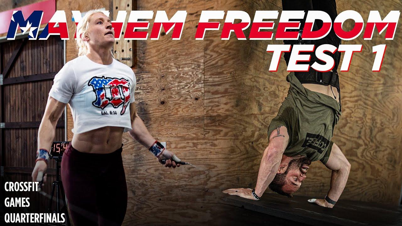 Download MAYHEM FREEDOM *FULL* TEST 1 // CrossFit Games QUARTERFINALS