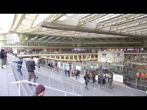 le nouveau  forum des halles à Paris