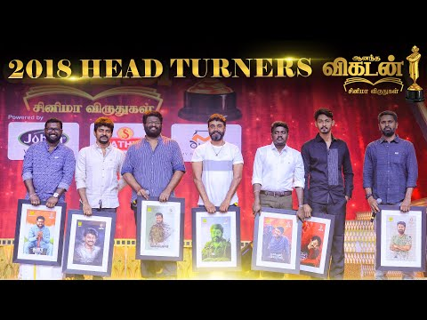 Most Promising Directors Tamil Cinema 2018 | Vikatan Cinema Awards Part 1