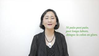 La Vojo   – Amira 전경옥 L.L.Zamenhof