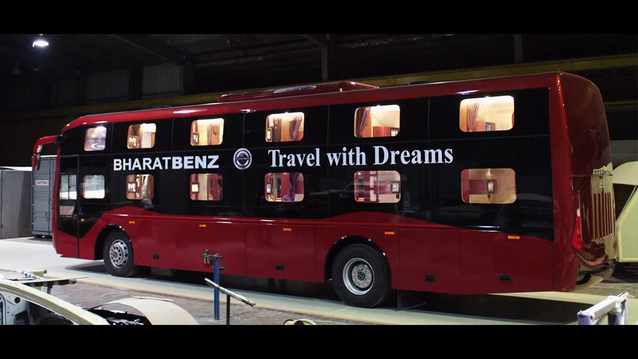 Why Bharatbenz Sleeper Coach Is Jcbl S One Of The Best Bus