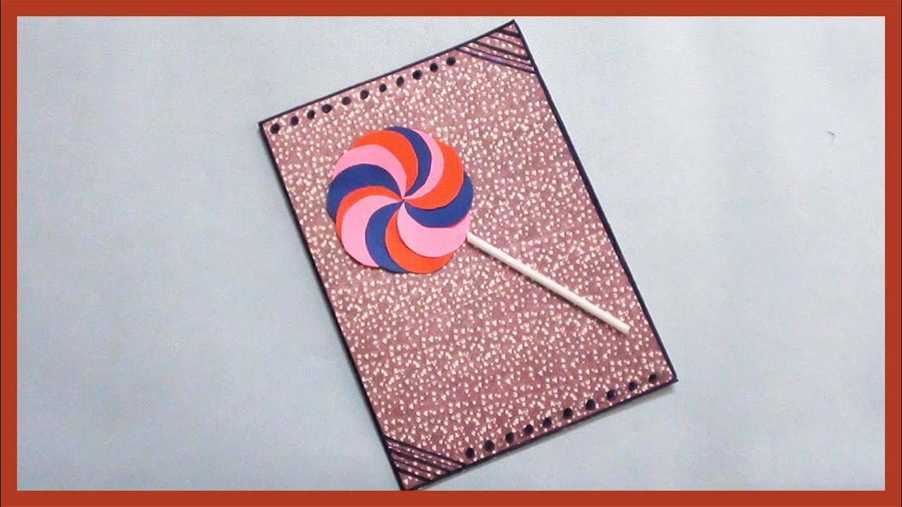 birthday gift card for kids how to make greeting card at home