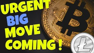 BITCOIN and LITECOIN BIG MOVE COMING!! bitcoin litecoin price prediction, ltc btc news