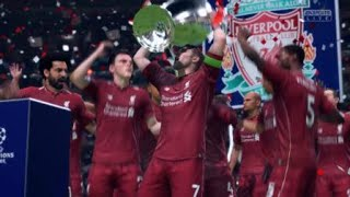 Final Champions League 2018/2019 Liverpool vs Tottenham