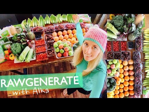 HOW TO HEAL THE HUMAN BODY NATURALLY: RAWGENERATE & EPIC RAW FOOD HAUL
