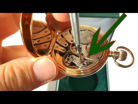 HOW TO MAKE ACCURATE YOUR POCKET WATCH