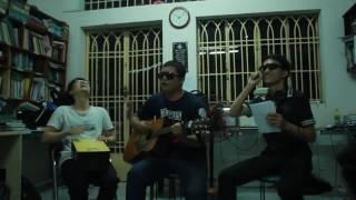 Cư xá An Bình - 8/3/2015 :) - nhóm 3 anh mắt kính :)