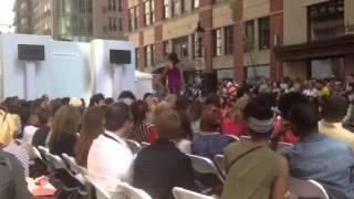 Lydia W. - FashionEasta Fashion Show Harbor East - scene 2