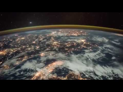 earth at night from space russian space agency