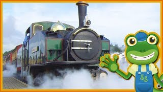 Steam Trains For Children | Gecko's Real Vehicles