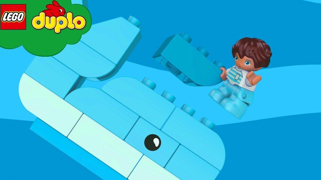 LEGO DUPLO | Meine Lieblingsfarbe | Kinderlieder und Cartoons | Moonbug Kids Deutsch