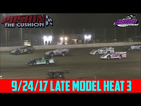 LaSalle Speedway - 9/24/17 - Late Model - Heat 3