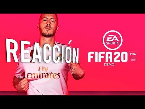 REACCIÓN A FIFA 20 DEMO | OPINIÓN | ¿VALE LA PENA COMPRARLO?