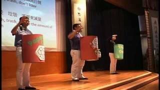 慈濟華府分會 2010 歲末祝福人人做環保短劇