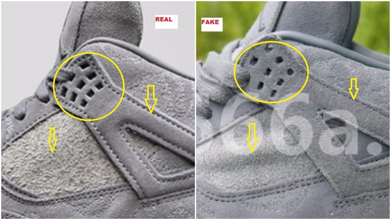 84833c6180f3 Fake Air Jordan 4 IV Kaws Have Emerged