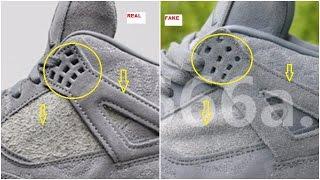 Fake Air Jordan 4 IV Kaws Have Emerged | Quick Tips To Identify Them