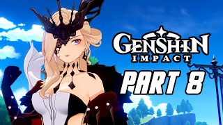 Genshin Impact - Gameplay Walkthrough Part 8 (Male, No Commentary, PS4 PRO)