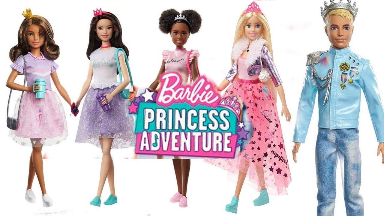New Barbie Princess Adventure 2020 - YouTube