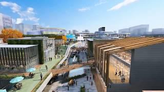 Masterplanning Architecture Flythrough Development - Russia