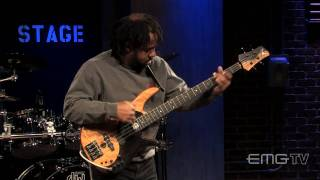 vuclip Victor Wooten wows with his performance of The Lesson solo live on EMGtv