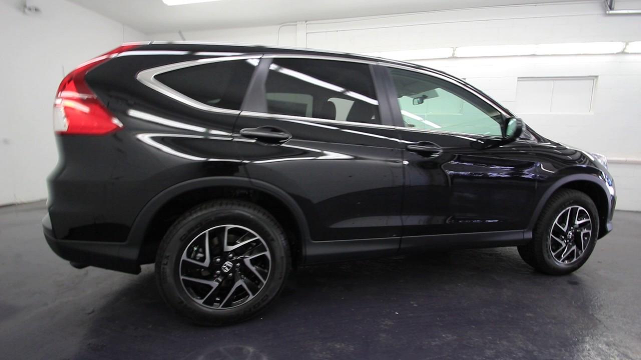 2016 Honda CRV SE  Crystal Black Pearl  GL024801  Seattle
