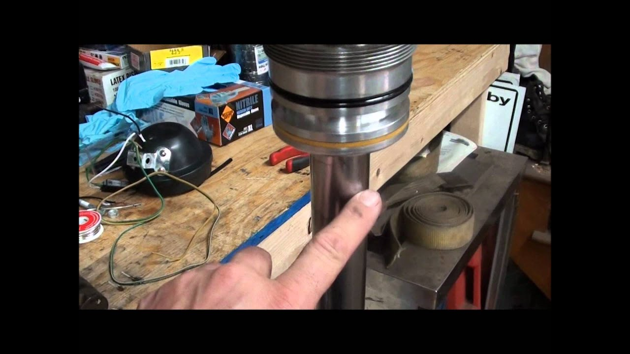 bobcat Hydraulic Cylinder Repair 2