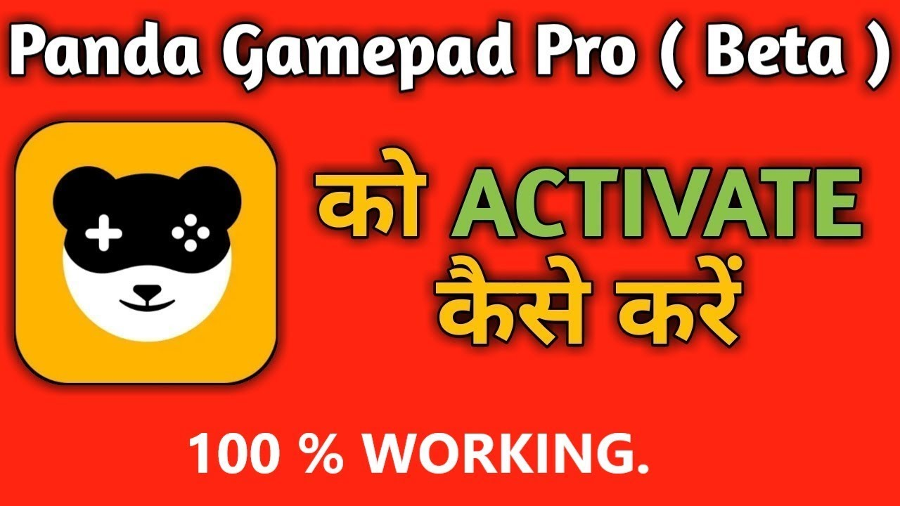 How To Activate Panda Gamepad PRO  Activated 100% WORKING