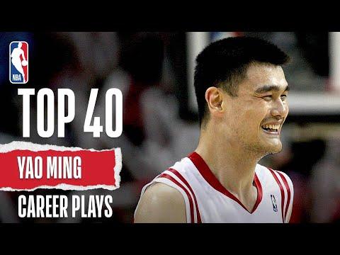 Yao Ming's Top 40   Career Plays