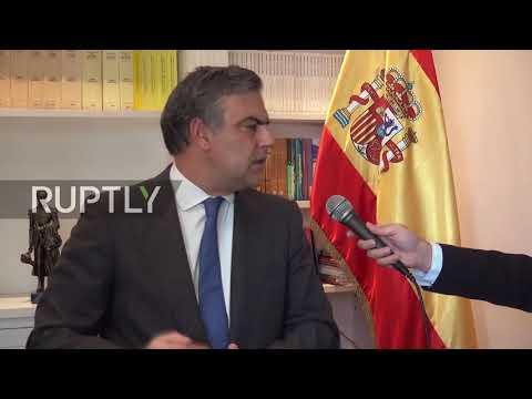 Venezuela: Expelled ambassador speaks out from Caracas *EXCLUSIVE*