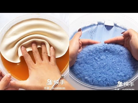 Relaxing Sounds Satisfying ASMR videos | Floral Foam, Slime and much more