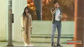 Gambar cover Camila Cabello Stays in Pajamas While on a Date With Shawn Mendes