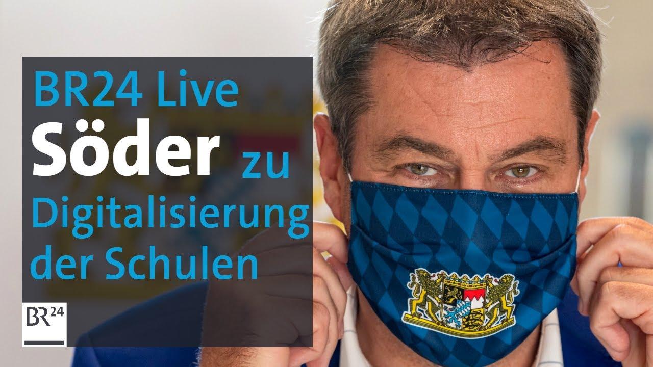 Pressekonferenz Söder Live
